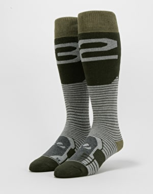 ThirtyTwo Performance ASI Snowboard Socks - Military