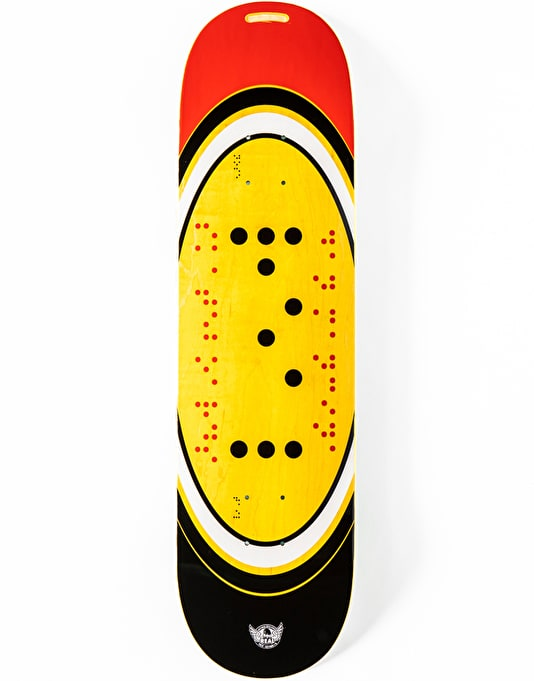 """Real Mancina x Actions REALized Braile Skateboard Deck - 8.25"""""""