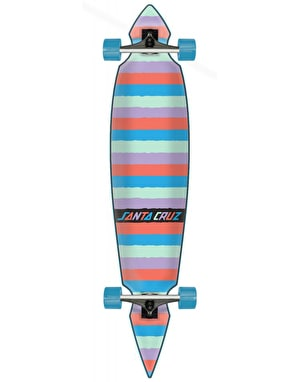 Santa Cruz Coloured Strip Pintail Longboard - 43.59