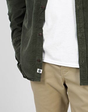 Element Pembroke L/S Shirt - Forest Night