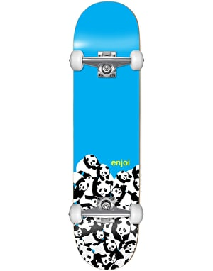 Enjoi Blue Panda Soft Wheel Complete Skateboard - 8