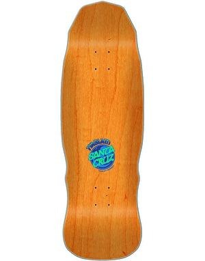 Santa Cruz Haslam Snack Warrior Guest Preissue Skateboard Deck - 9.9