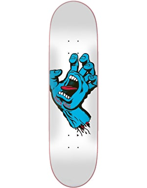 Santa Cruz Screaming Hand Taper Tip Skateboard Deck - 8.25