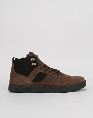 Supra Bandit Skate Shoes - Demitasse/Black