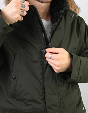 Dickies Curtis Parka - Olive Green
