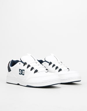 DC Syntax Skate Shoes - White/Navy