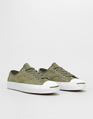 Converse Jack Purcell Pro Ox Skate Shoes - Field Surplus/White/Gum