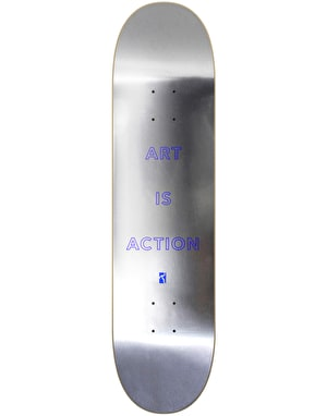 Poetic Collective Art is Action Skateboard Deck - 8.25