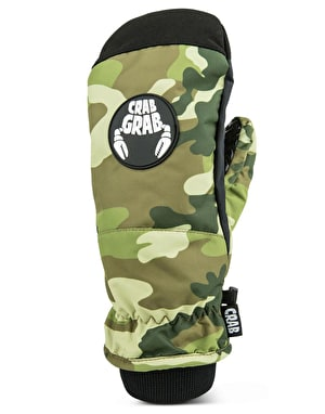 Crab Grab Slush 2019 Snowboard Mitts - Camo