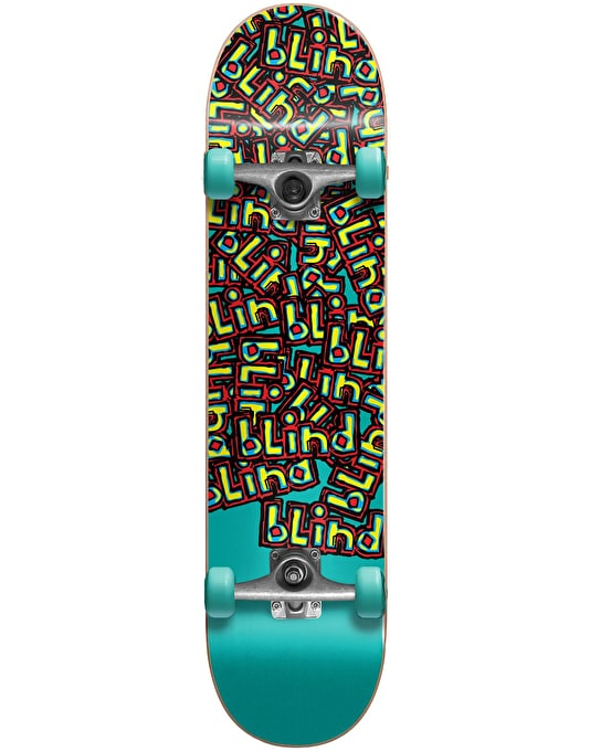 """Blind Letter Drop Soft Top Micro Complete Skateboard - 6.5"""""""