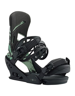 Burton Mission 2019 Snowboard Bindings - Illumi Not Me