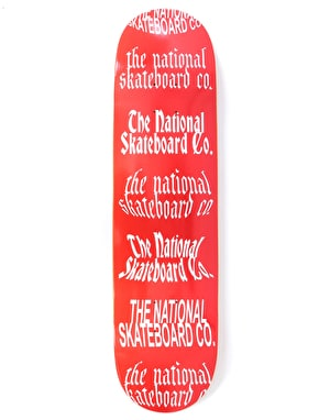 The National Skateboard Co. Team II Skateboard Deck - 8.5