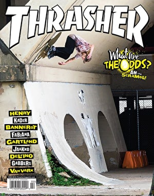 Thrasher Magazine Issue 463 February 2019