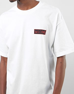 Welcome Balance T-Shirt - White/Black/Red