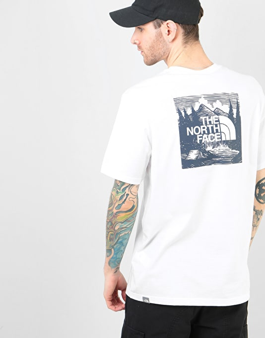 a975573fa The North Face S/S Red Box Celebration T-Shirt - TNF White/Urban Navy