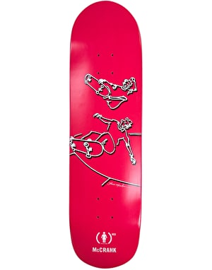 Girl x (PRODUCT) RED x Lance Mountain McCrank Skateboard Deck - 8.5