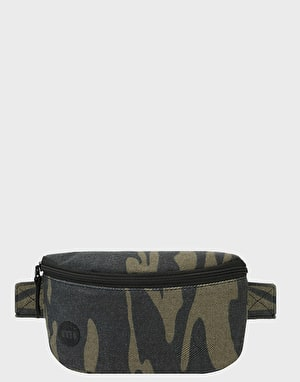 Mi-Pac Canvas Camo Cross Body Bag - Khaki