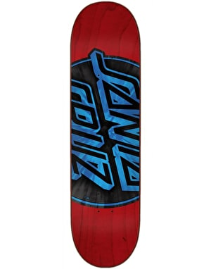 Santa Cruz Warp Dot Skateboard Deck - 8.25