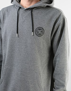 DC Rebel Pullover Hoodie - Charcoal Heather