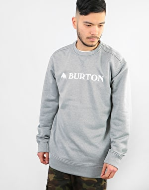 Burton Oak Sweatshirt - Monument Heather