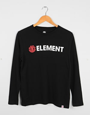 Element Blazin LS Boys T-Shirt - Flint Black