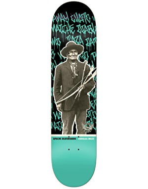 Real x Douglas Miles x Apache Action Realized Skateboard Deck - 8.25
