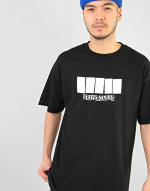 Baker Color Change T-Shirt - Black