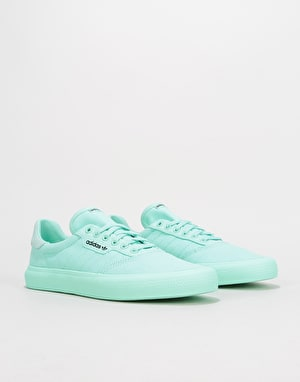 Adidas 3MC Skate Shoes - Clear Mint/Clear Mint/Core Black