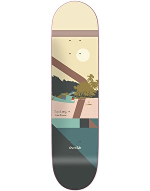 Chocolate Brenes Hecox Tropical Studies Skateboard Deck - 8.25