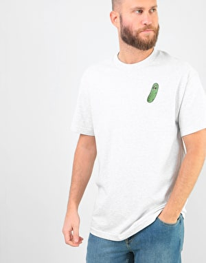Primitive x Rick & Morty Pickle Rick T-Shirt - Ash Heather