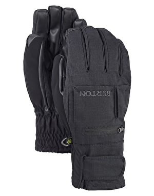 Burton Baker 2 in 1 Under 2019 Snowboard Gloves - True Black
