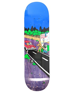 Polar Boserio Welcome To Perth Skateboard Deck - 8.625
