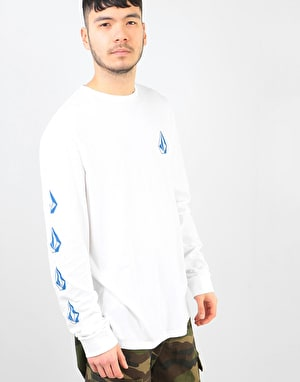Volcom Deadly Stone L/S T-Shirt - White