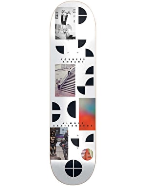 Almost Youness Fragments Skateboard Deck - 8.375