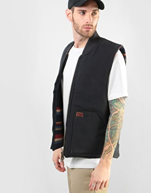 Dickies Calverton Canvas Vest – Black