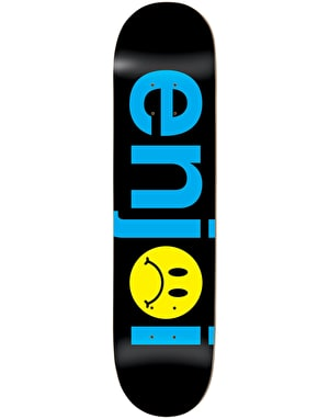 Enjoi Frowny Face No Brainer Skateboard Deck - 8
