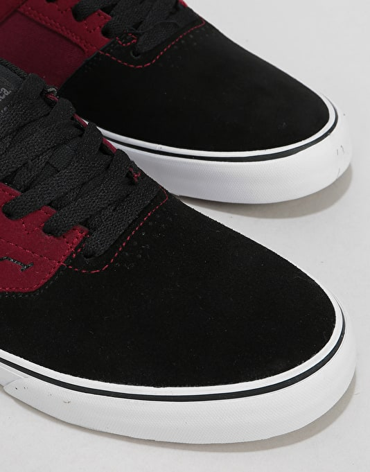 Emerica The Reynolds Low Vulc Skate Shoes - Blackberry