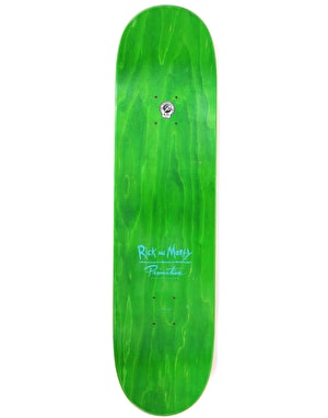 Primitive x Rick & Morty Tucker Pickle Rick Skateboard Deck - 8.25