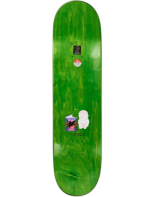 Polar Oskar The Hero's Journey Skateboard Deck - 8.25""