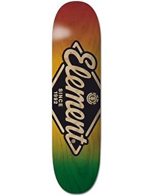Element Rhombus Skateboard Deck - 7.75