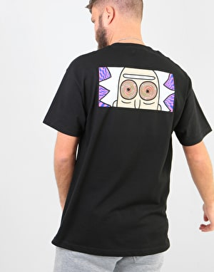 Primitive x Rick & Morty Rick Hypno Eyes T-Shirt - Black
