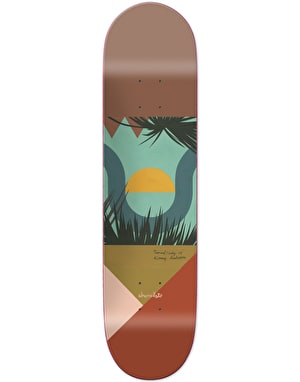 Chocolate Anderson Hecox Tropical Studies Skateboard Deck - 8.125