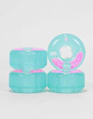 Ricta Wheels Super Crystals 99a Skateboard Wheel - 53mm