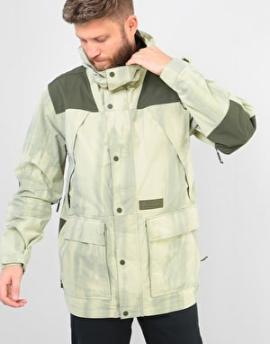 Burton Cloudlifter 2019 Snowboard Jacket - Mosstone Distress/Forest