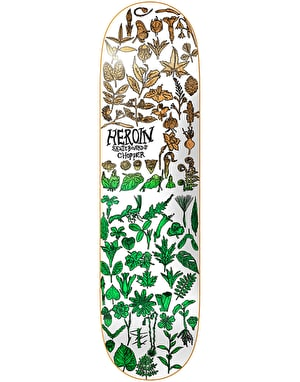 Heroin Chopper Field Study Skateboard Deck - 8