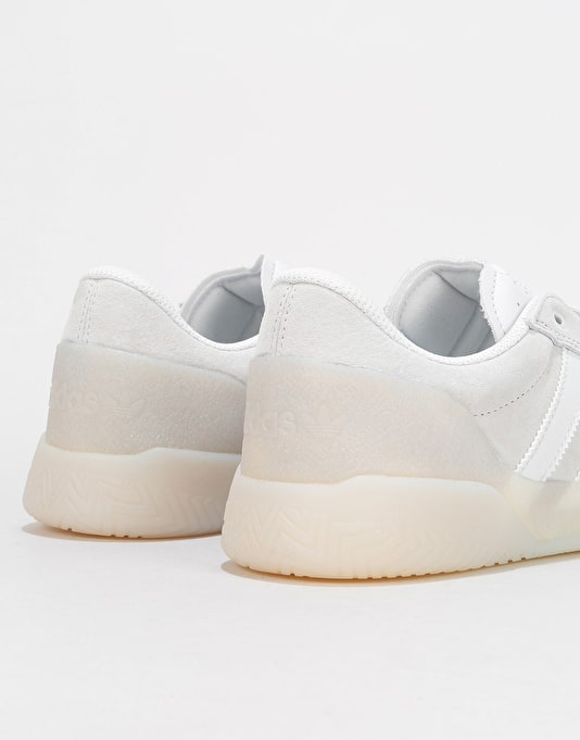 Adidas City Cup Skate Shoes - Crystal White/Crystal White