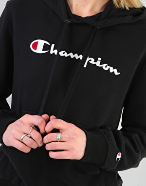 Champion Womens Logo Pullover Hoodie - NBK