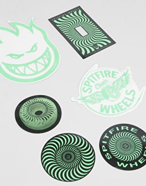 Spitfire Stay Lit Sticker Pack (6)