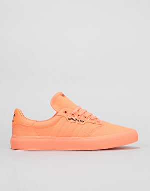 Adidas 3MC Skate Shoes - Chalk Coral/Core Black/Chalk Coral