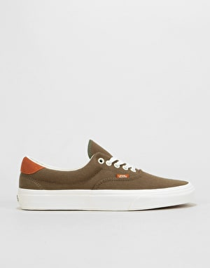 Vans Era 59 Skate Shoes - (Flannel) Dusty Olive